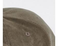 Dark Green Faux Suede Hat